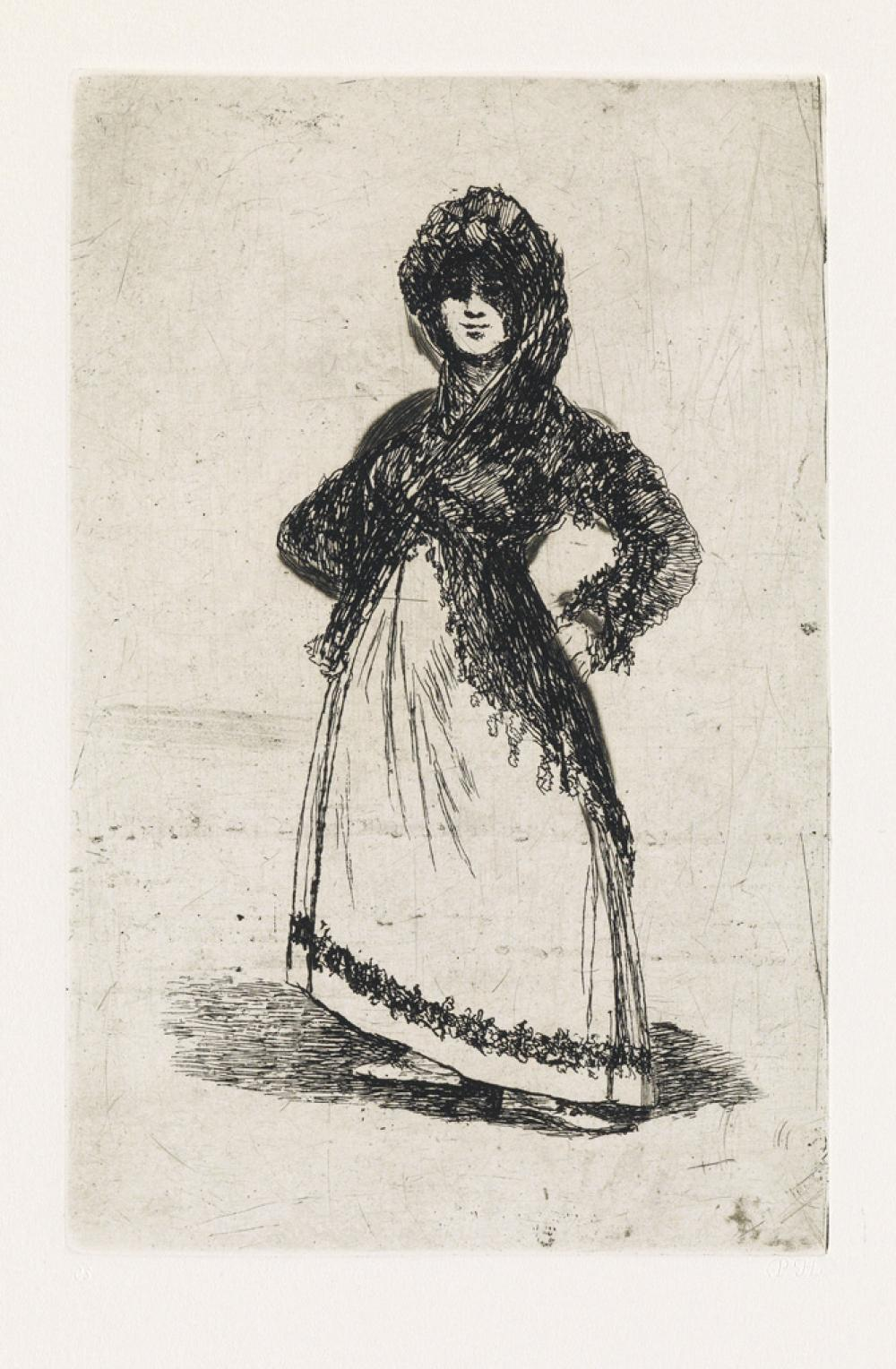 FRANCISCO JOSÉ DE GOYA A group of 6 etchings with aquatint and drypoint executed in Bordeaux between 1824 and 1828.