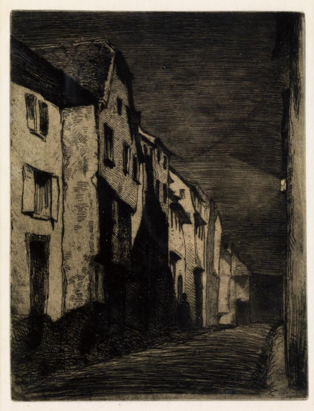 JAMES A. M. WHISTLER Street at Saverne.