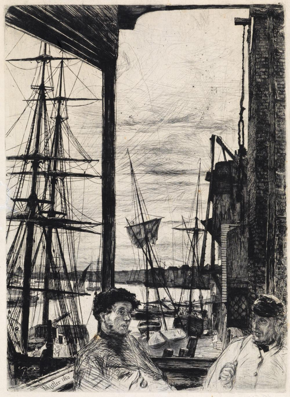 JAMES A. M. WHISTLER Rotherhithe.