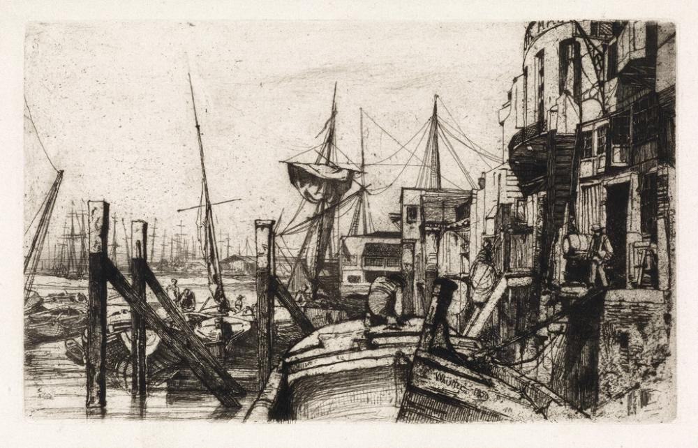 JAMES A. M. WHISTLER Limehouse.