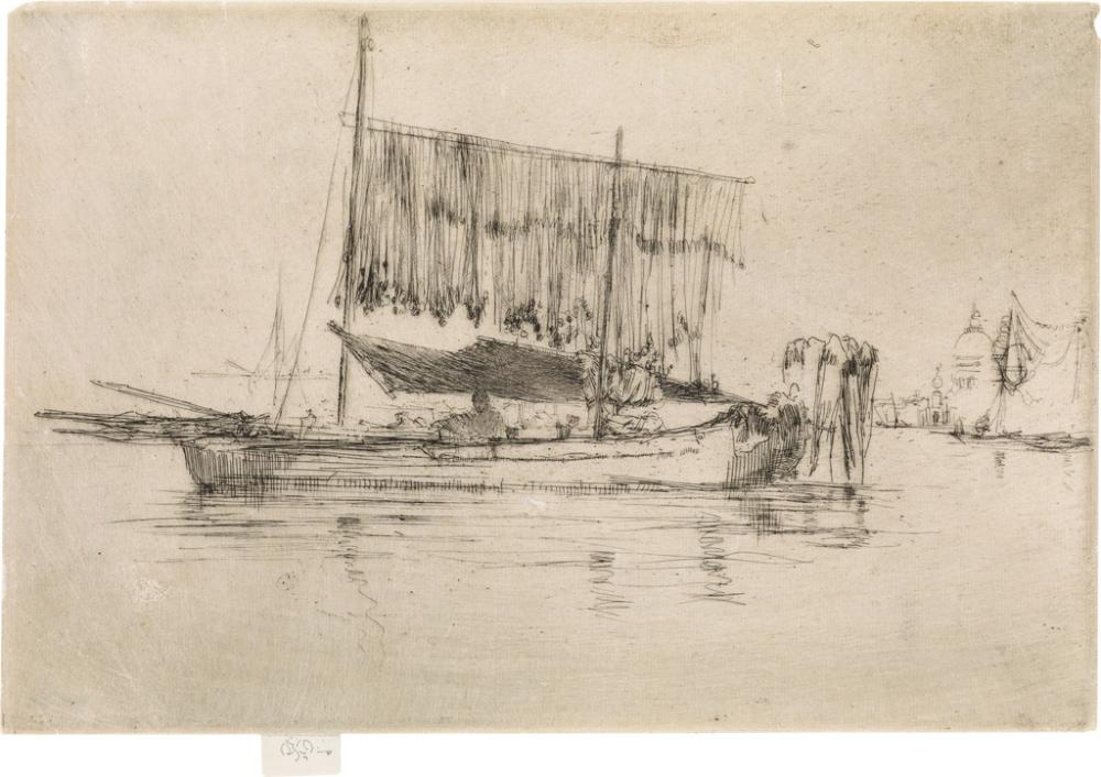 JAMES A. M. WHISTLER The Fishing Boat.