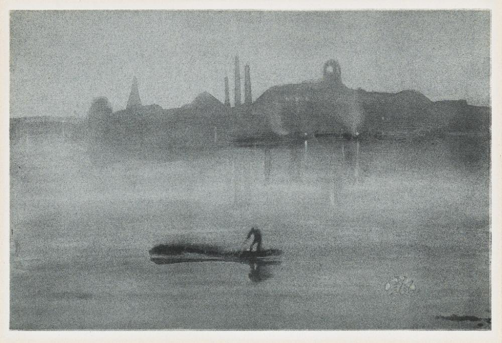 JAMES A. M. WHISTLER Nocturne.
