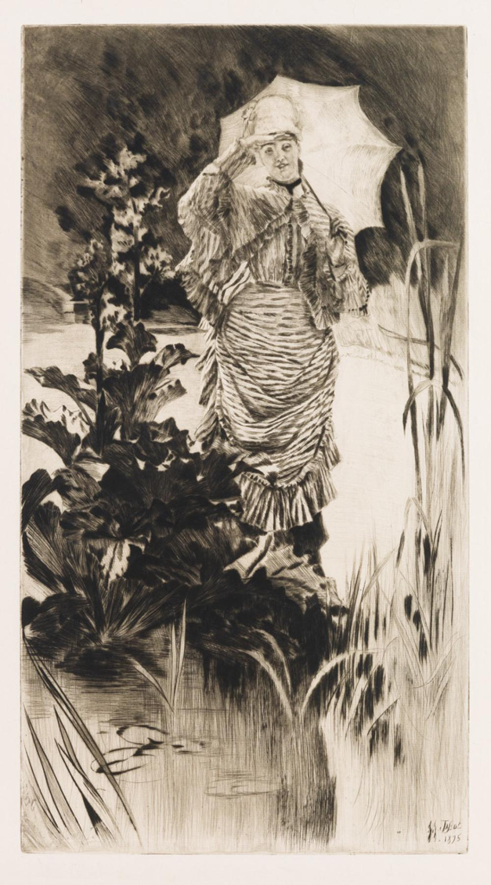 JAMES JACQUES TISSOT Matineé de Printemps.