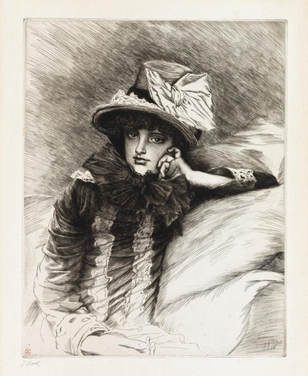 JAMES JACQUES TISSOT Berthe.