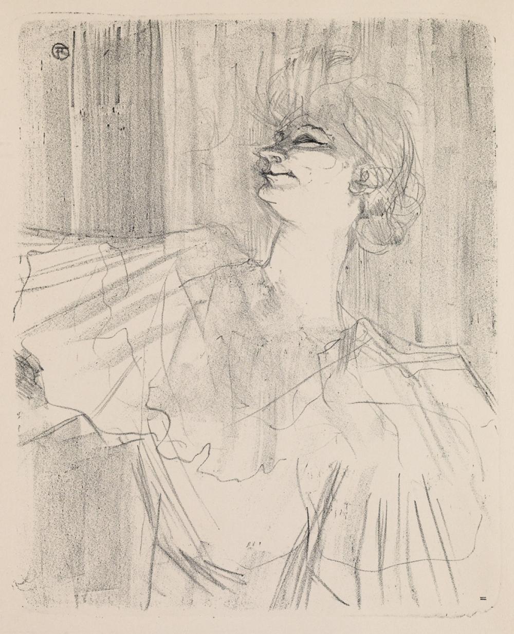 HENRI TOULOUSE-LAUTREC Yvette Guilbert,