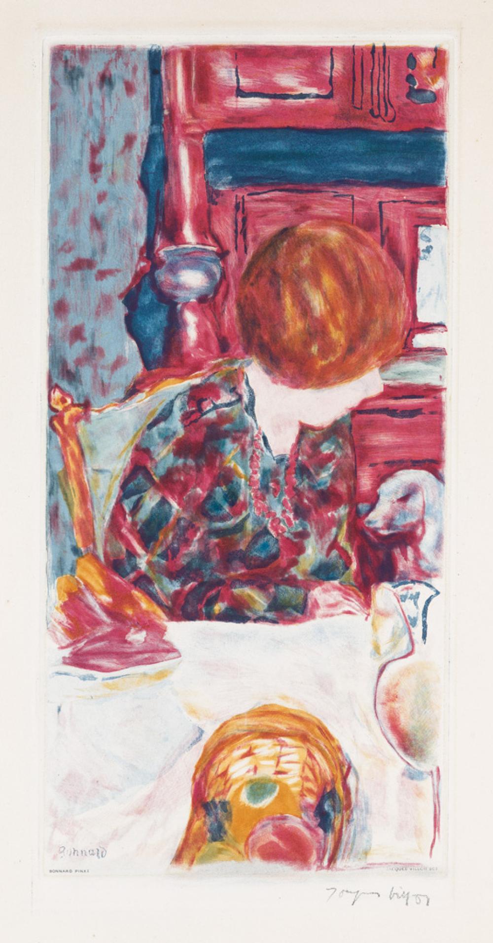 PIERRE BONNARD (after) La Femme au Chien