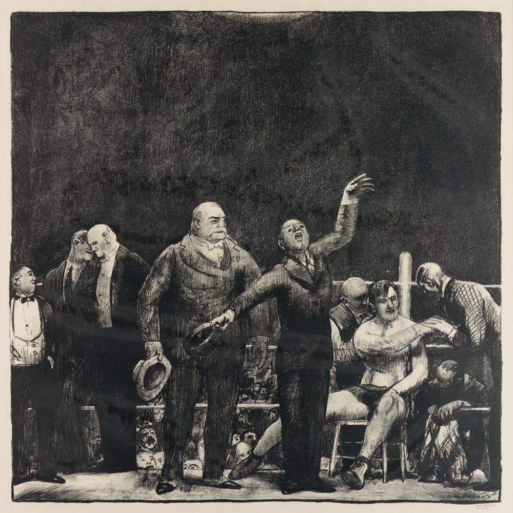 GEORGE BELLOWS Introducing John L. Sullivan.