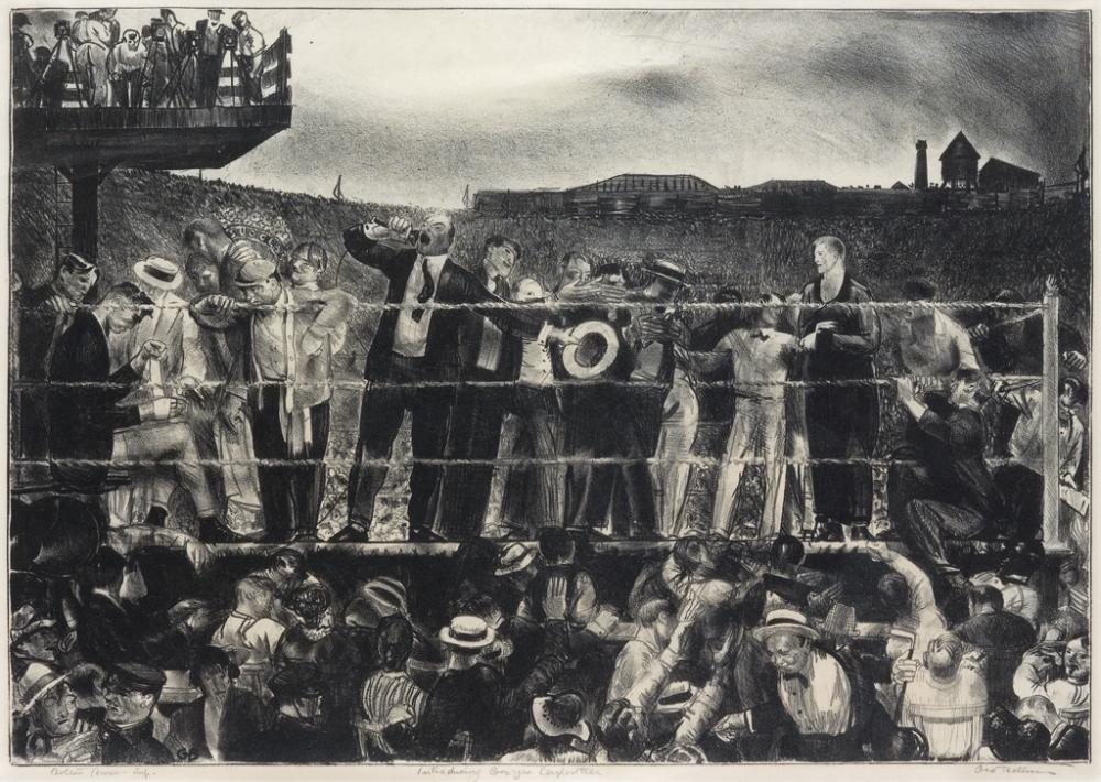 GEORGE BELLOWS Introducing George Carpentier.