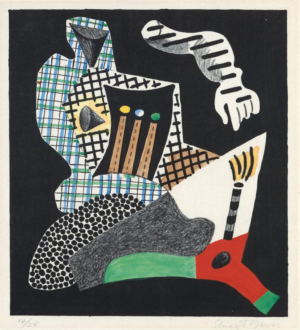 STUART DAVIS Composition.