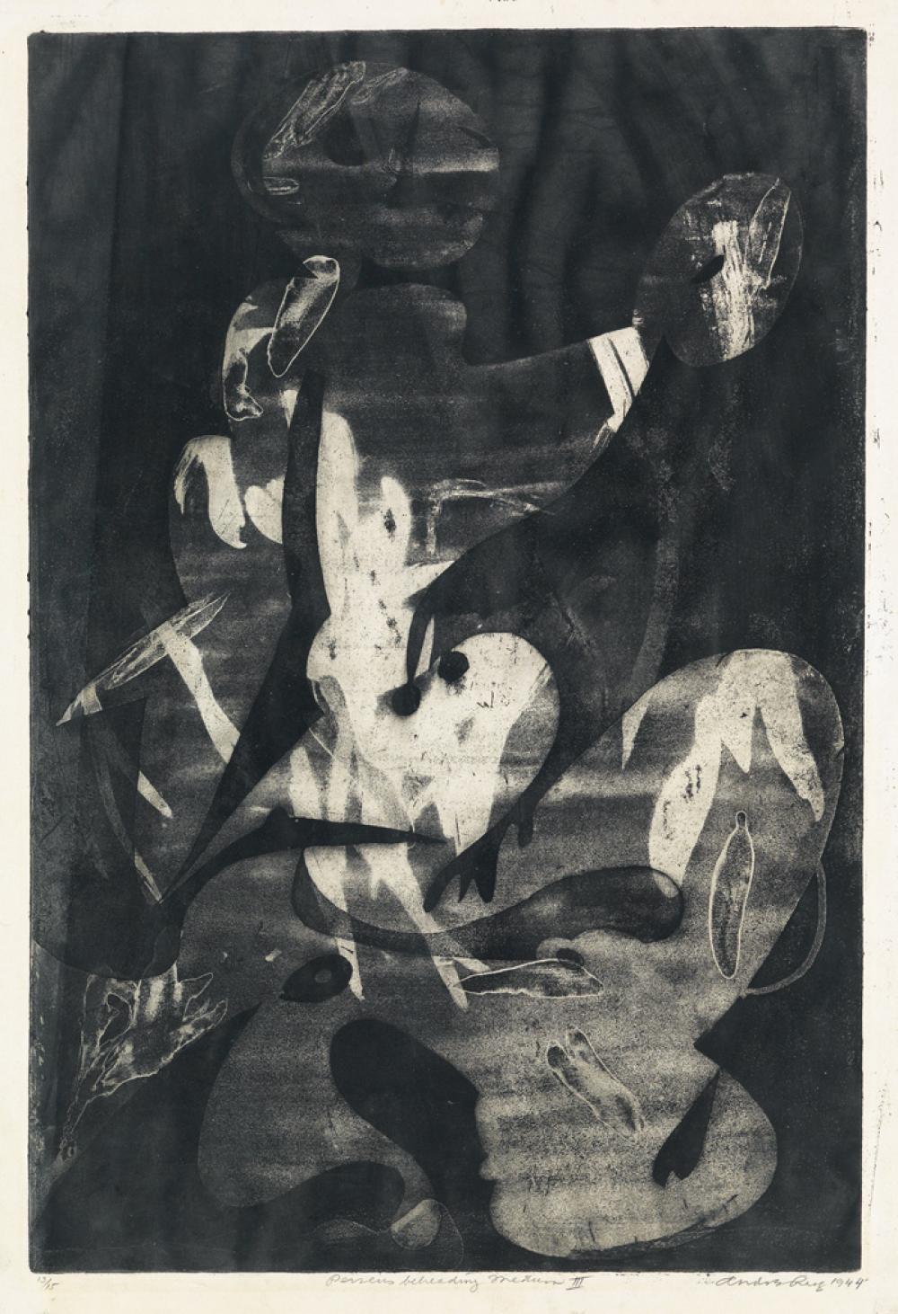 ANDRE RACZ Perseus Beheading Medusa III.