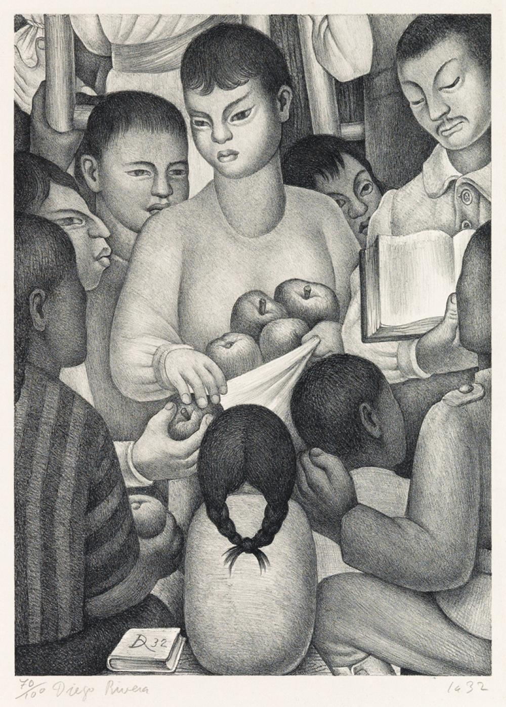 DIEGO RIVERA Fruits of Labor.