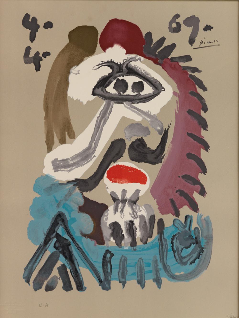 PABLO PICASSO (after) Vingt-Neuf Portraits Imaginaires