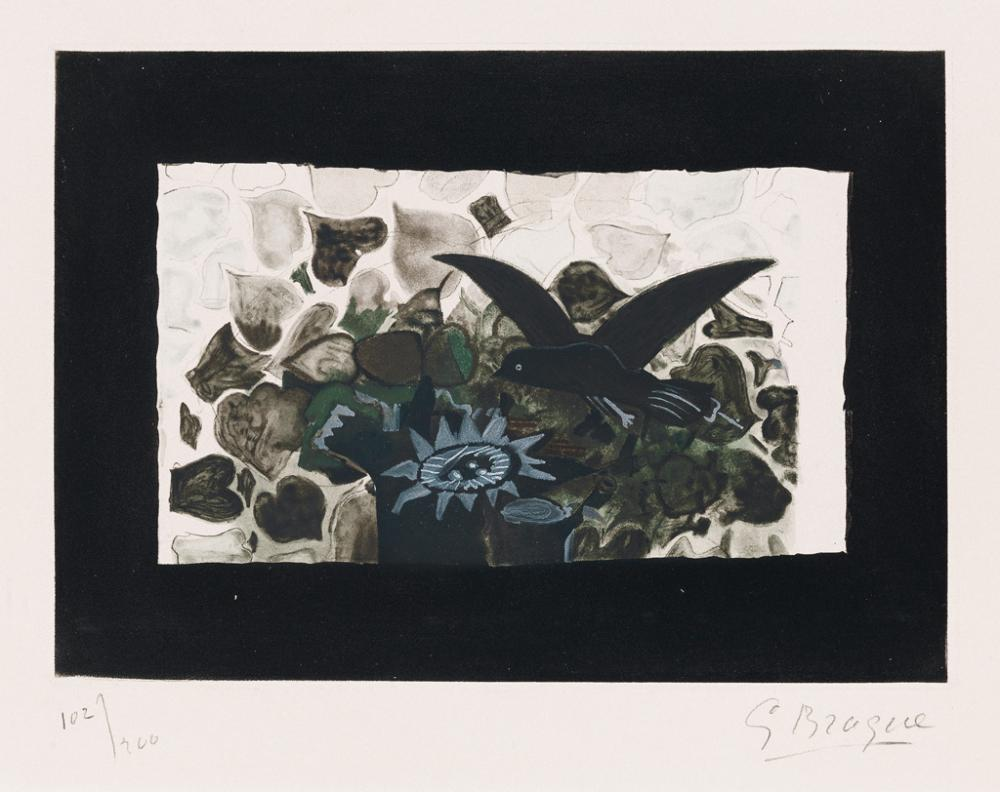 GEORGES BRAQUE (after) Le Nid Vert
