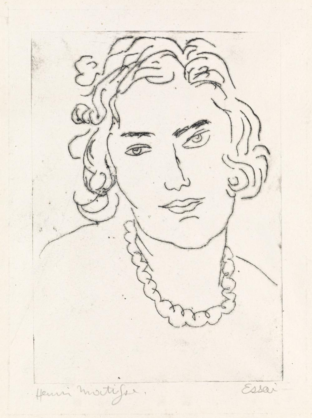 HENRI MATISSE Le Grand Collier.