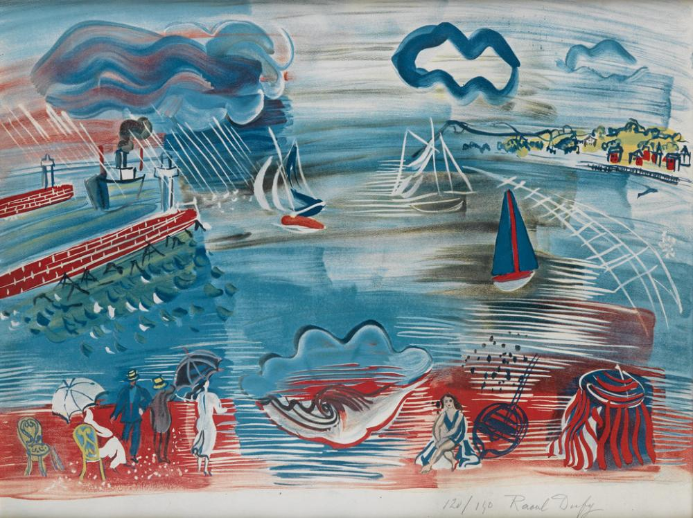 RAOUL DUFY (after) Le Havre
