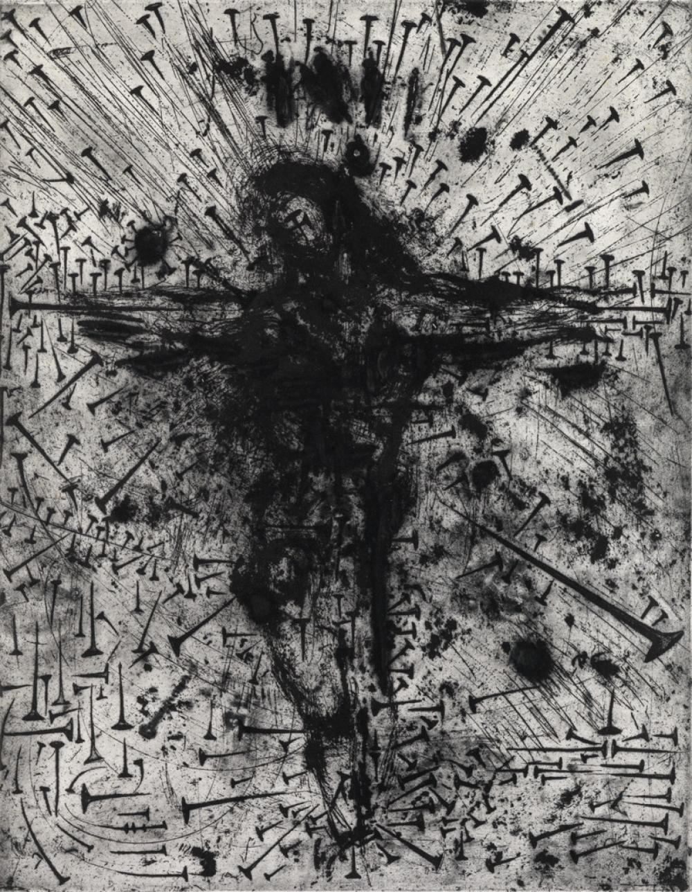 SALVADOR DALÍ Crucifixion.