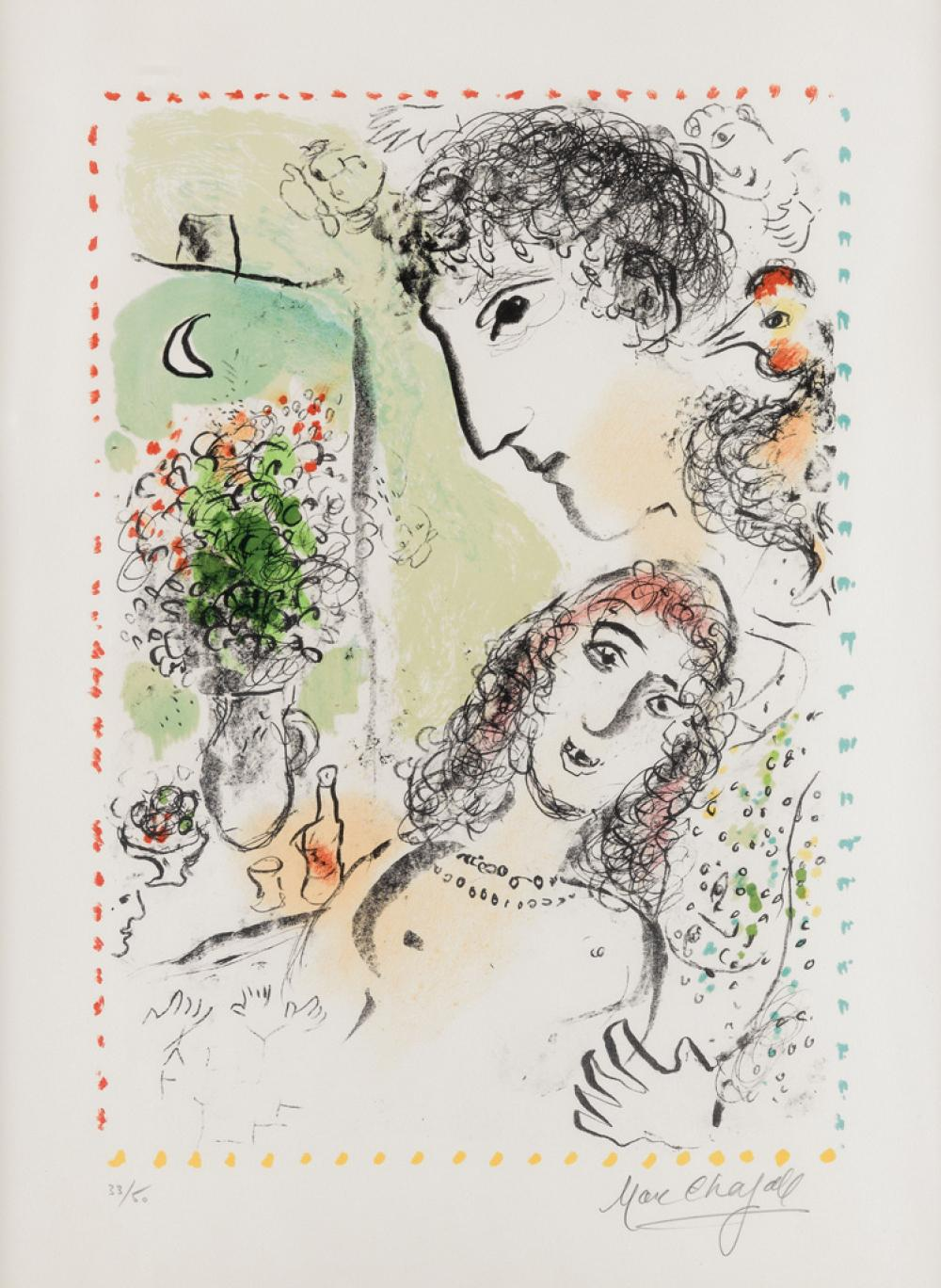 MARC CHAGALL Tendresse.