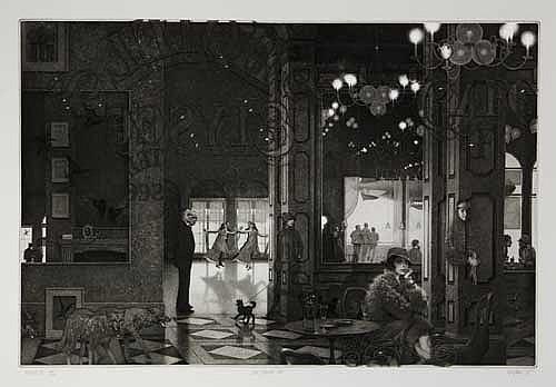 PETER MILTON Interiors IV: Hotel Paradise Café.