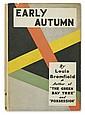 BROMFIELD, LOUIS. Early Autumn.