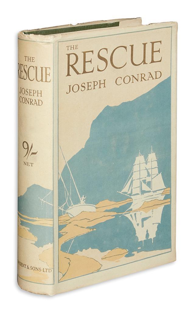 Conrad Joseph The Rescue A Romance Of The Shallows
