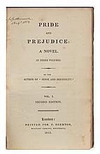 AUSTEN, JANE. Pride and Prejudice. Second Edition.