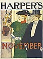 EDWARD PENFIELD HARPER'S NOVEMBER.  1895., Edward Penfield, Click for value