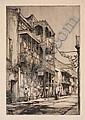 EARL HORTER New Orleans Street., Earl Horter, Click for value