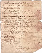 (AMERICAN REVOLUTION.) HEATH, WILLIAM. Letter Signed,
