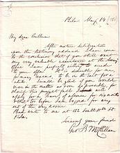 MCCLELLAN, GEORGE B. Autograph Letter Signed,