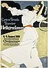 HANS RUDI ERDT (1883-1918). LAWN - TENNIS TURNIER / HEILIGENDAMM. 1908. 38x27 inches, 96x69 cm. Hollerbaum & Schmidt, Berlin., Hans Rudi Erdt, Click for value