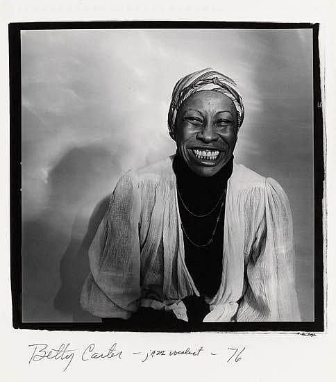 ANTHONY BARBOZA (1944 -   ) Betty Carter--Jazz Vocalist.