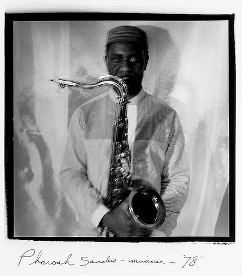 ANTHONY BARBOZA (1944-   ) Pharoah Sanders--Musician.