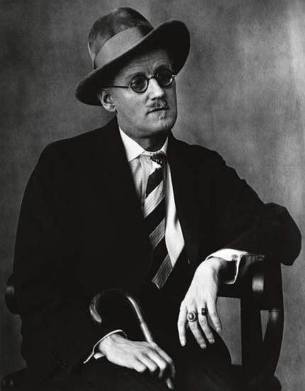 ABBOTT, BERENICE (1898-1991) James Joyce.