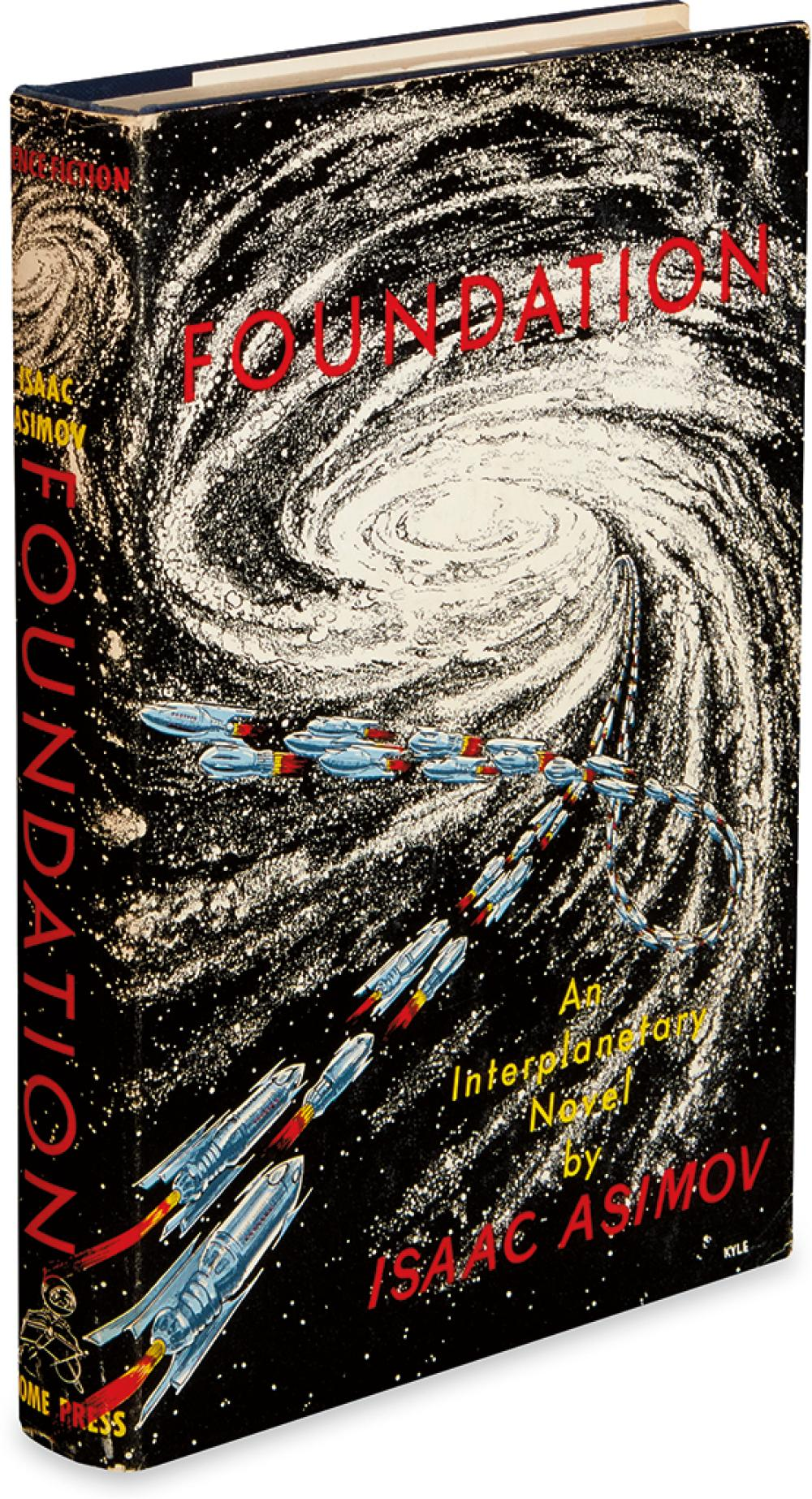 ASIMOV, ISAAC. Foundation Trilogy. Foundation * Foundation and Empire * Second Foundation.