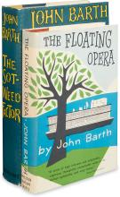 BARTH, JOHN. The Floating Opera * The Sot-Weed Factor.