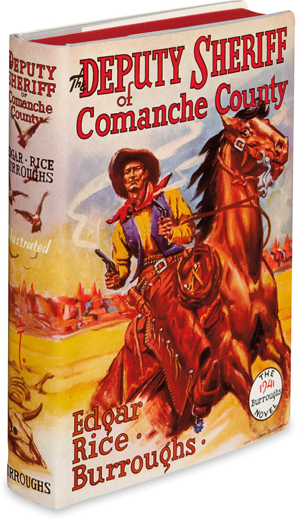 BURROUGHS, EDGAR RICE. Deputy Sheriff of Comanche County.