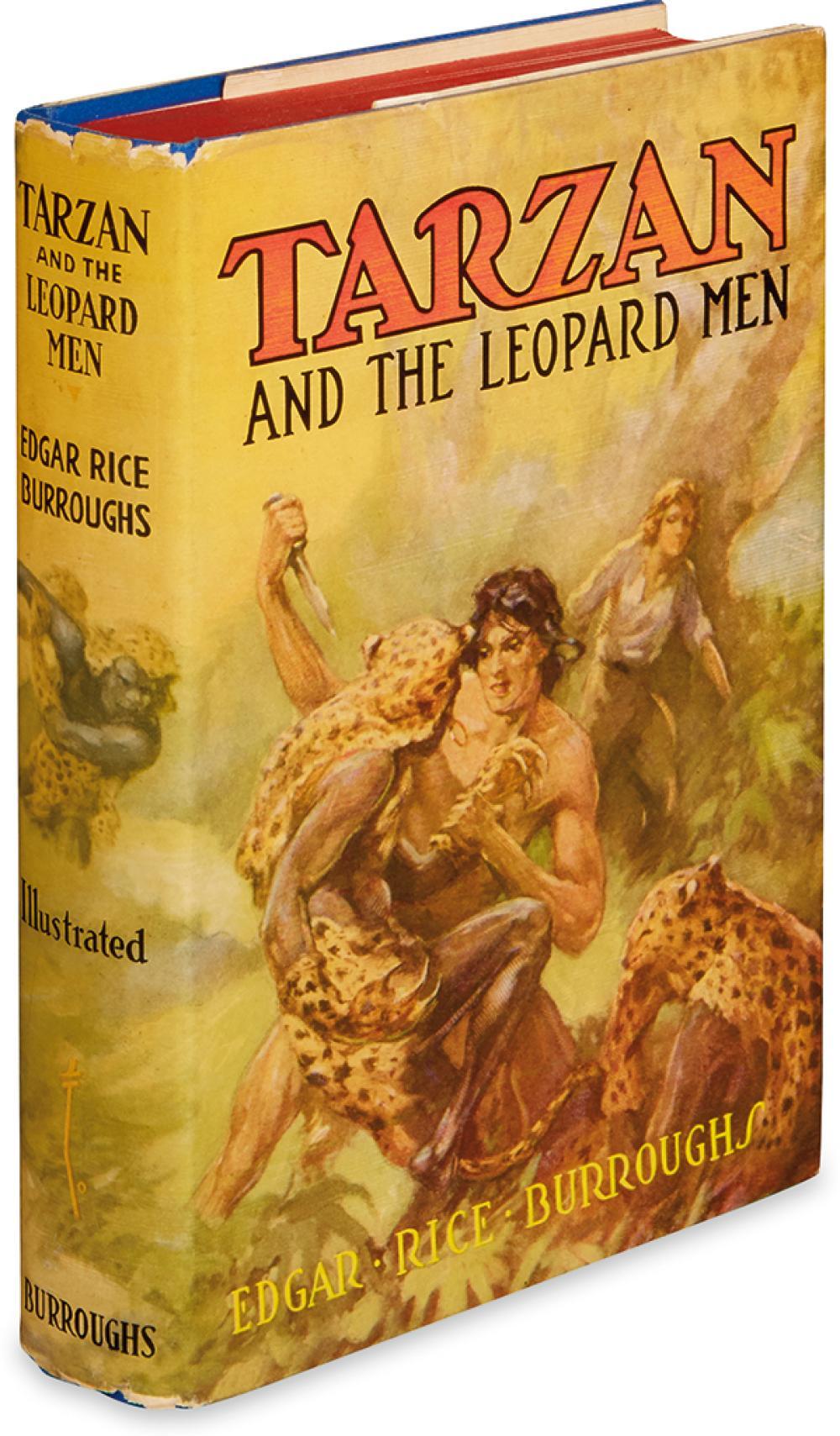 BURROUGHS, EDGAR RICE. Tarzan and the Leopard Men.