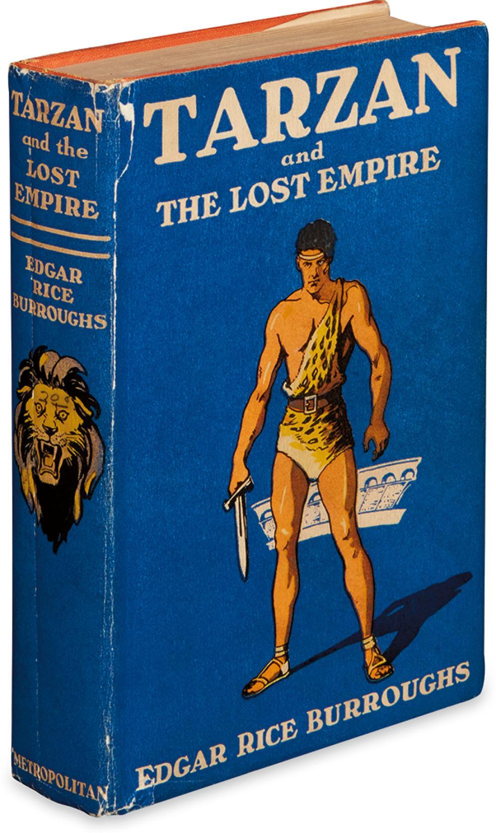 BURROUGHS, EDGAR RICE. Tarzan and the Lost Empire.