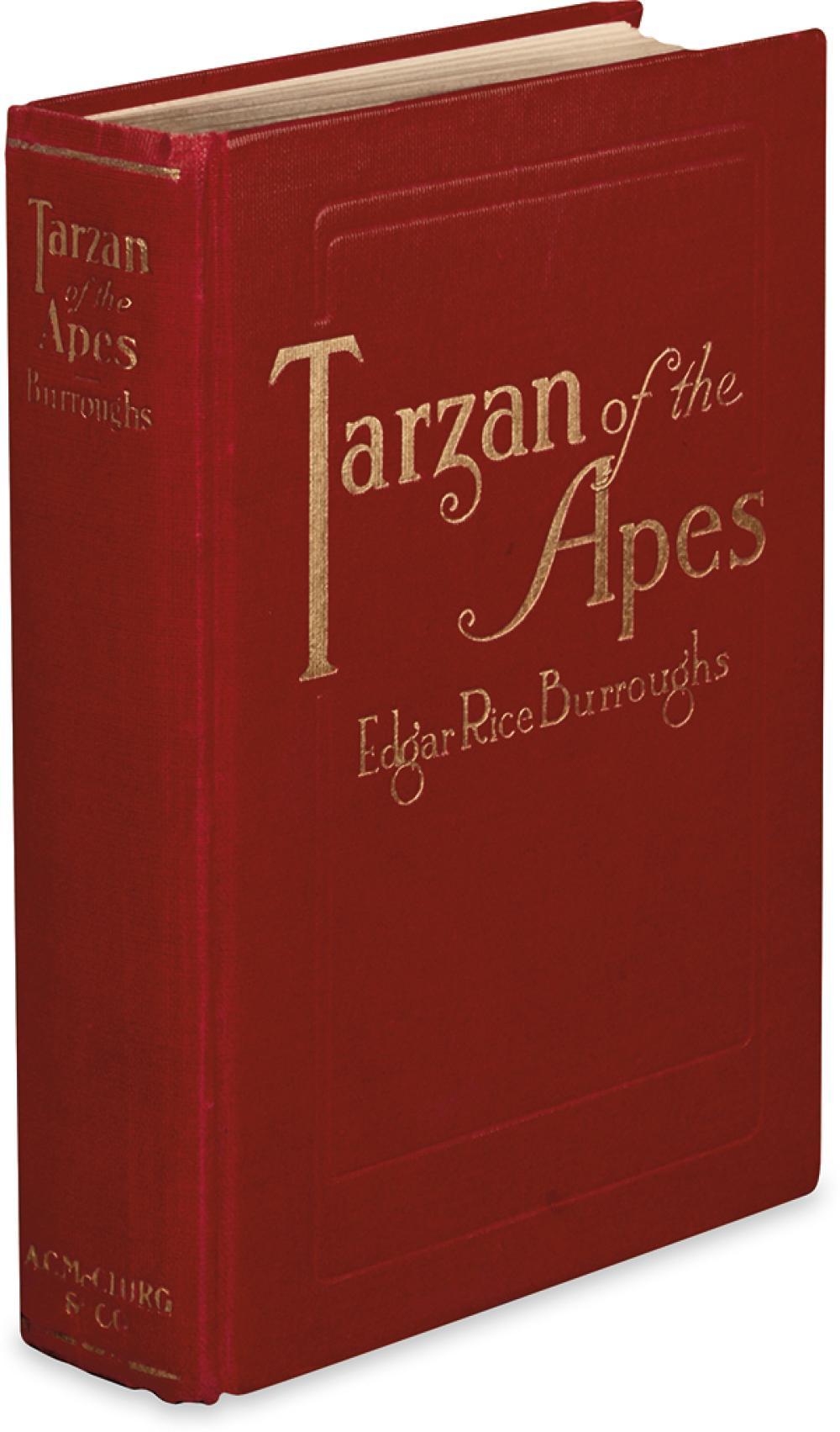 BURROUGHS, EDGAR RICE. Tarzan of the Apes.