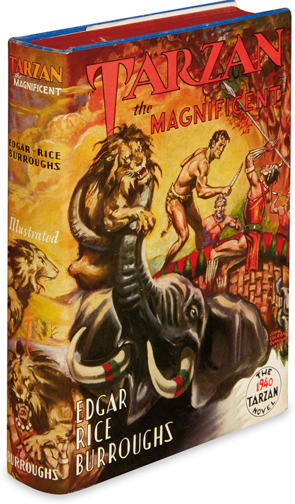 BURROUGHS, EDGAR RICE. Tarzan the Magnificent.
