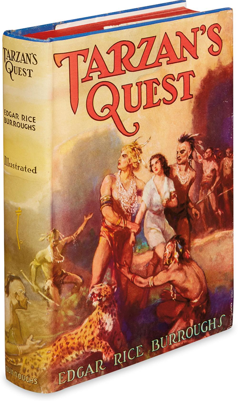BURROUGHS, EDGAR RICE. Tarzan's Quest.