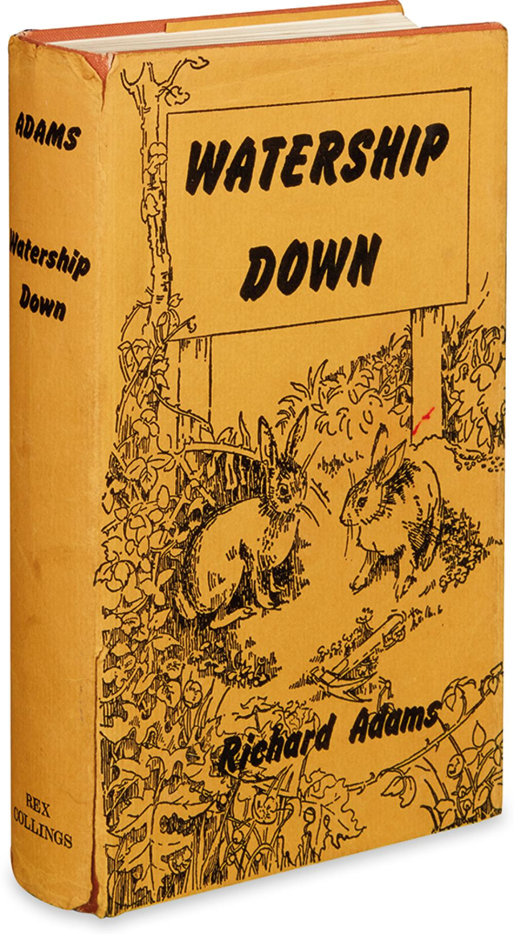(CHILDREN'S LITERATURE.) ADAMS, RICHARD. Watership Down.