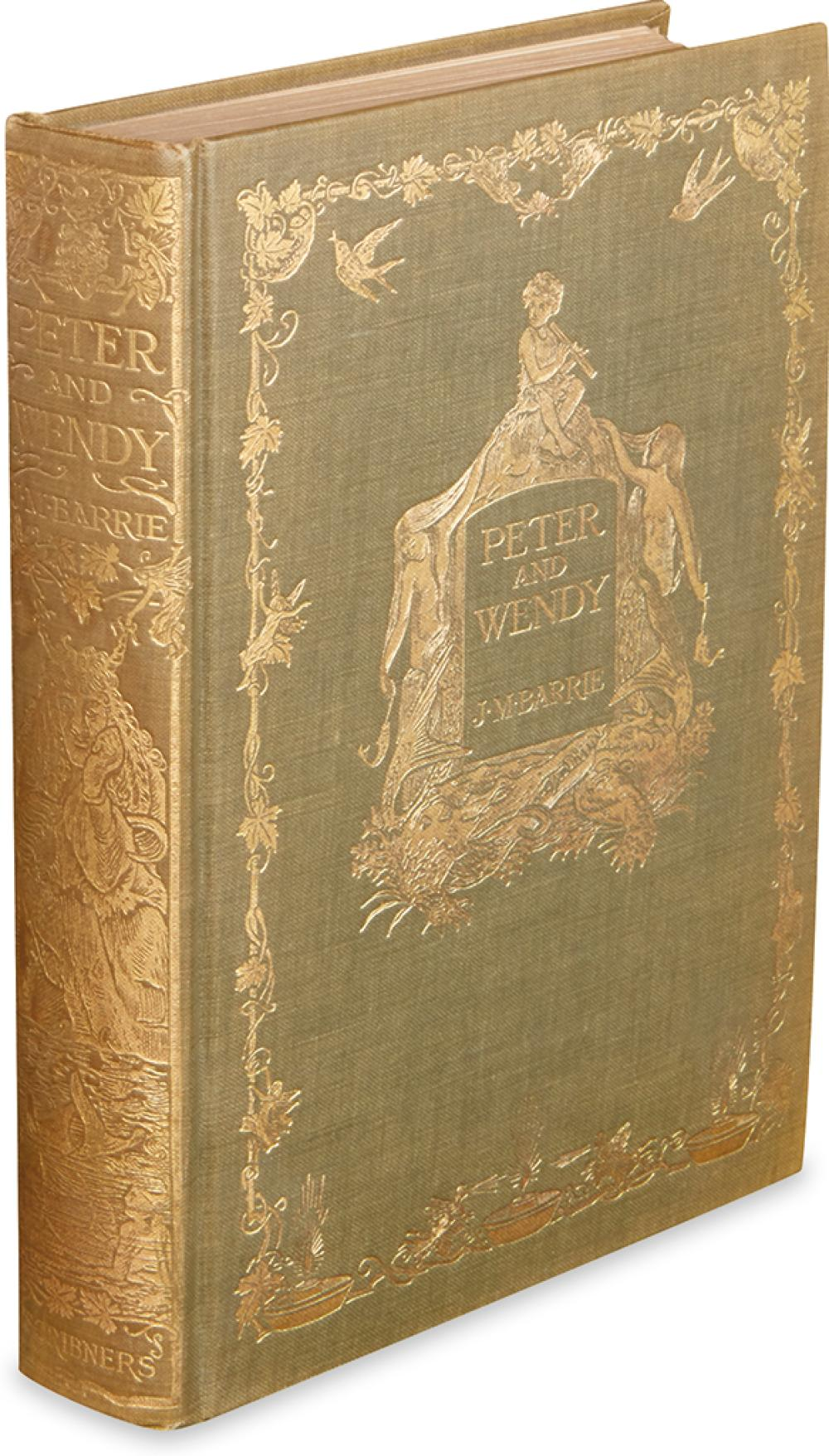 (CHILDREN'S LITERATURE.) BARRIE, J.M. Peter and Wendy.