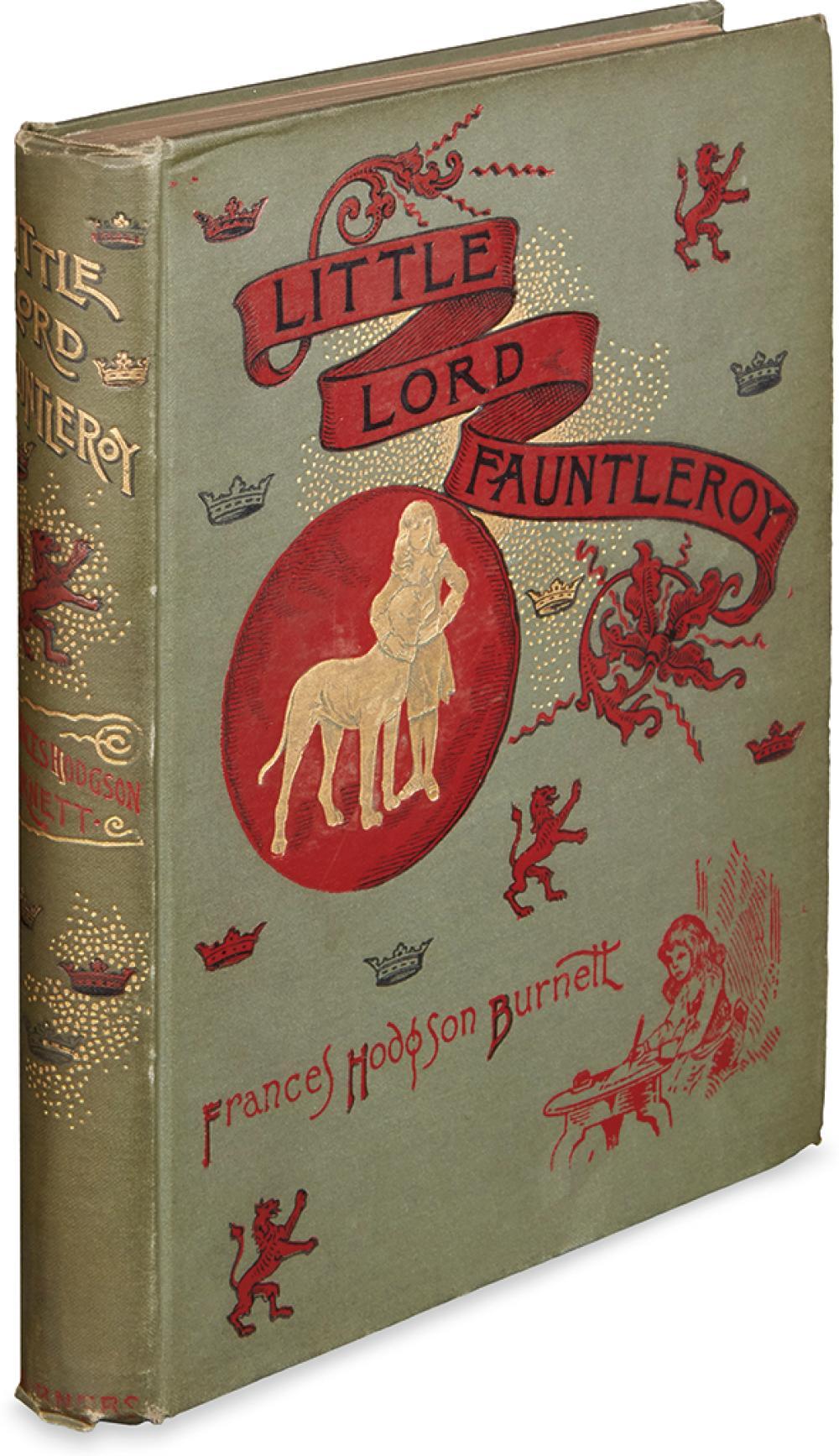 (CHILDREN'S LITERATURE.) BURNETT, FRANCES HODGSON. Little Lord Fauntleroy.