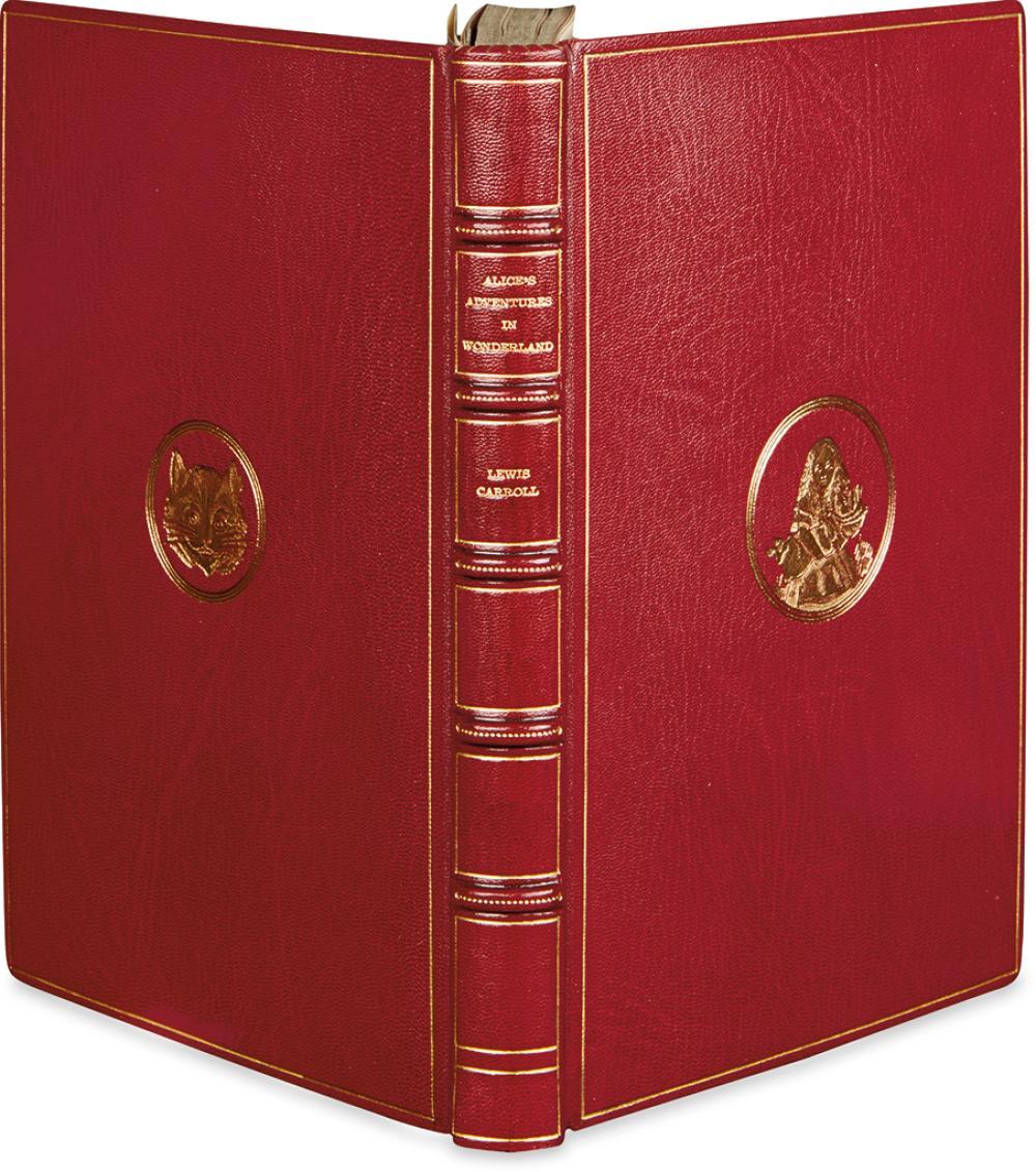 (CHILDREN'S LITERATURE.) CARROLL, LEWIS [Dodgson, Charles Lutwidge]. Alice's Adventures in Wonderland.