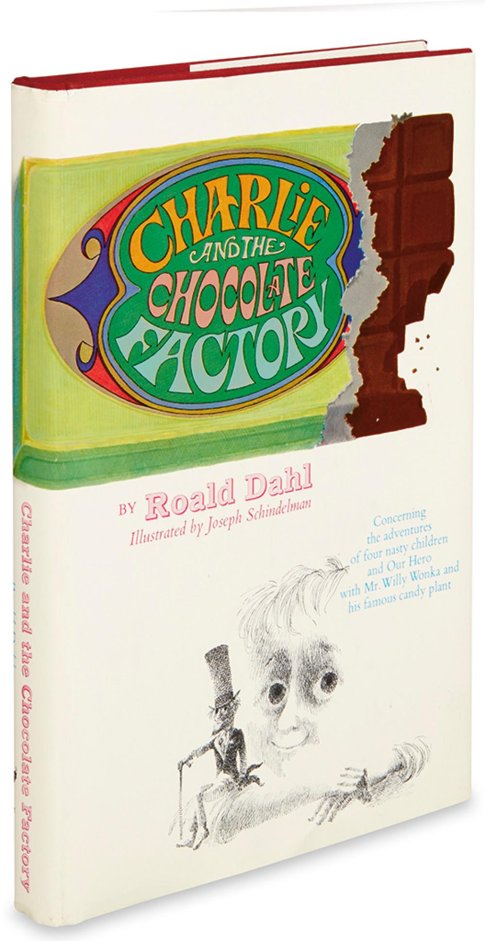 (CHILDREN'S LITERATURE.) DAHL, ROALD. Charlie and the Chocolate Factory.