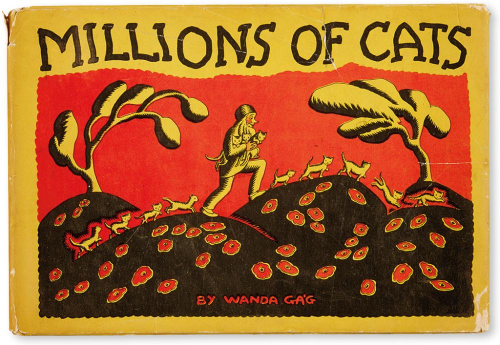 (CHILDREN'S LITERATURE.) GA'G, WANDA. Millions of Cats.