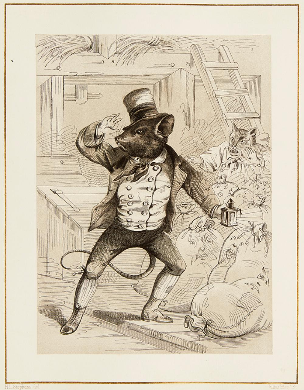 (CHILDREN'S LITERATURE.) [NURSERY RHYMES.] Stephens, Henry Louis. Group of six Proof Copies.