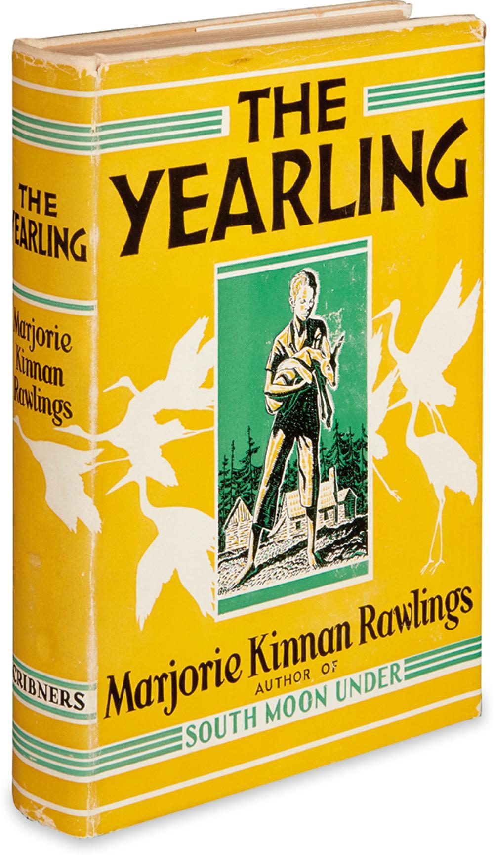 (CHILDREN'S LITERATURE.) RAWLINGS, MARJORIE KINNAN. The Yearling.