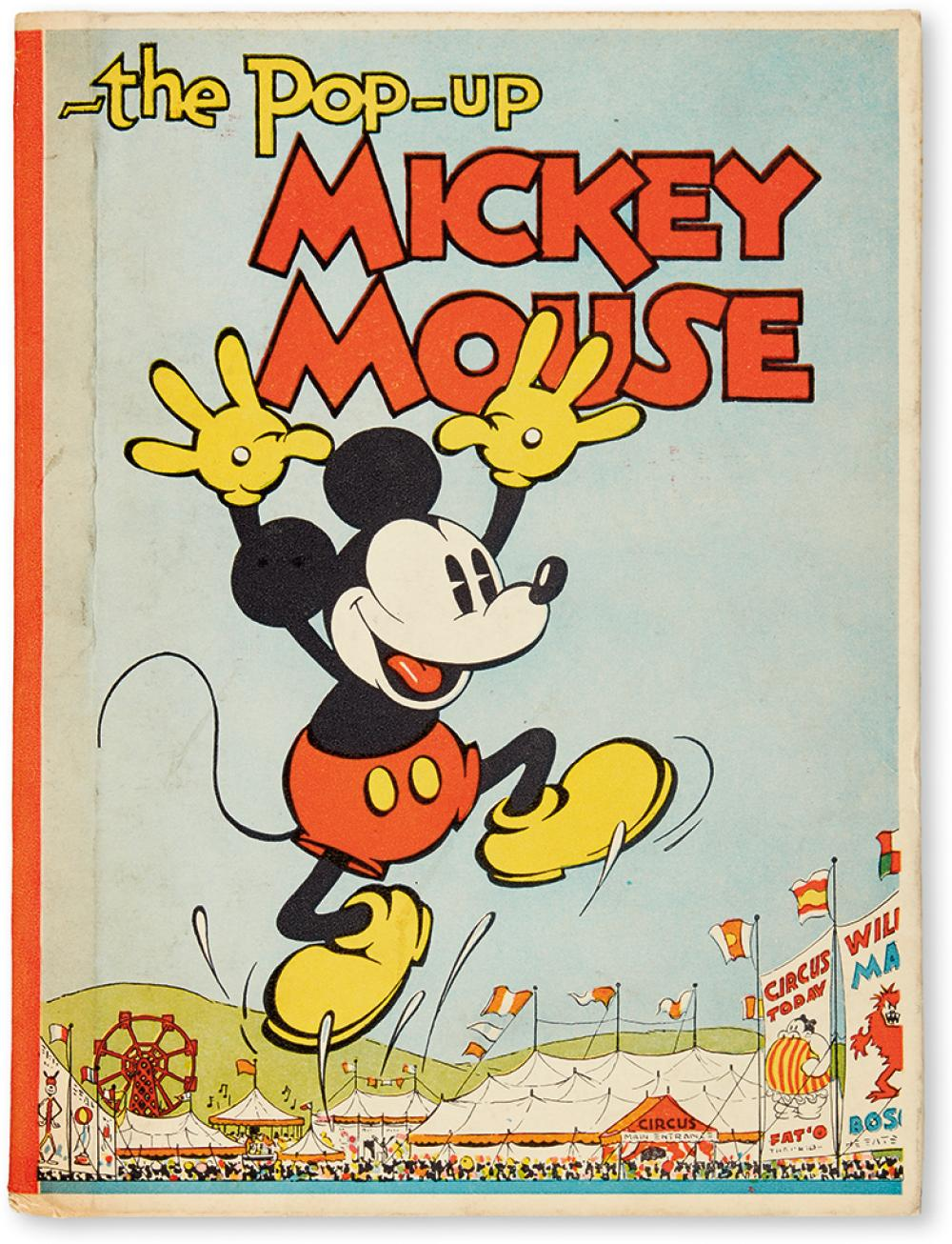 (CHILDREN'S LITERATURE.) WALT DISNEY STUDIOS. The Pop-up Mickey Mouse.